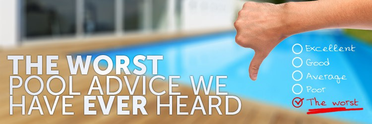 The 5 worst pool advice we have ever heard - How to put hot water in a swimming pool ...