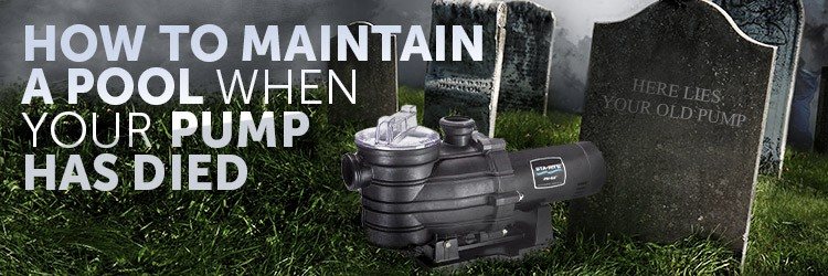 Maintaining Pool when Pool Pump has died