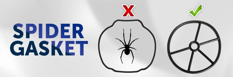 What is a spider gasket?