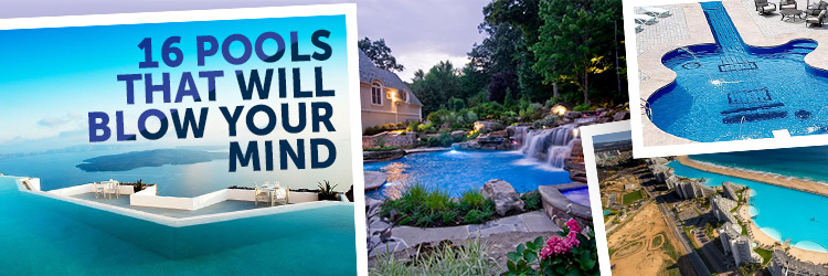 16 pools that will blow your mind for Elaborate swimming pools