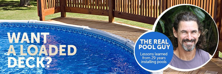 How To Build A Deck Next An Above Ground Pool