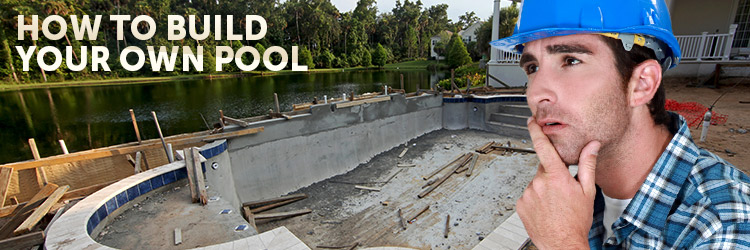 Build your own pool for How to build a natural swimming pool step by step