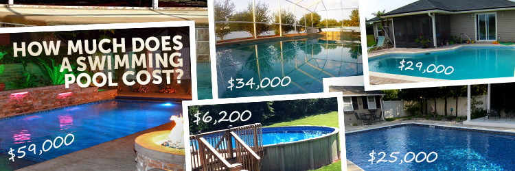 How much does a pool cost 93 real world examples for How much does an above ground swimming pool cost