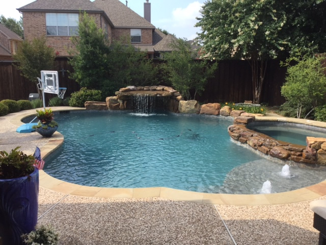 Frisco TX Swimming Pool
