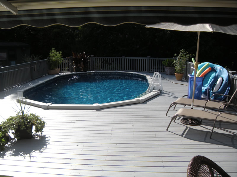 Hampstead NC Above Ground Swimming Pool