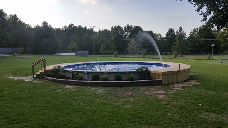 Longview Texas Above Ground Pool