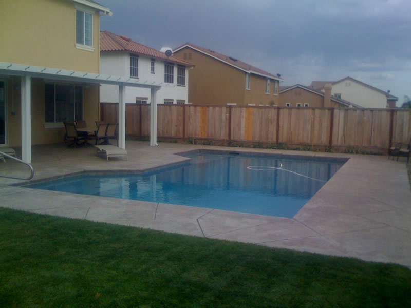 Oakdale CA Swimming Pool