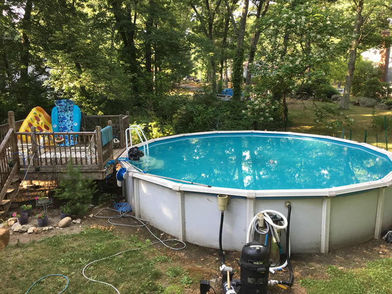 Tewksbury Ma Above Ground Pool