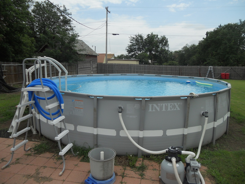 Vici Oklahoma Above Ground Swimming Pool