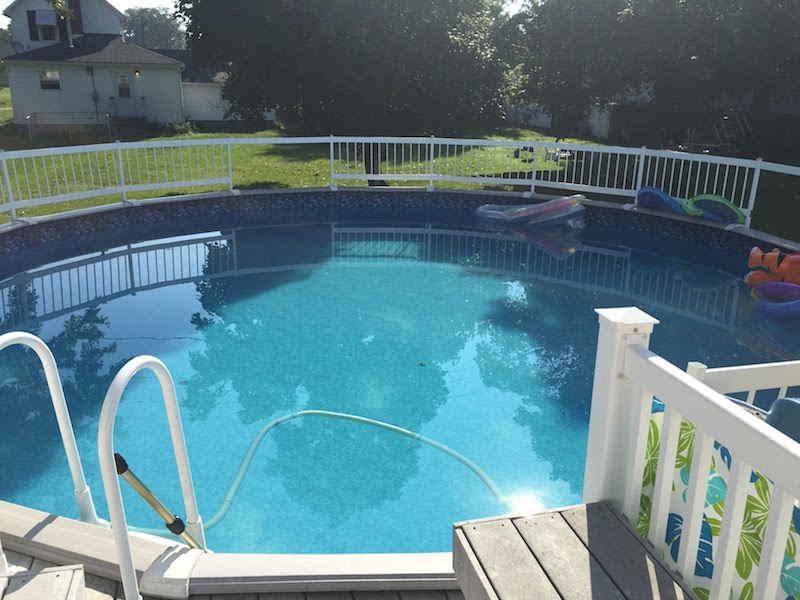 Wauseon, OH Above Ground Swimming Pool