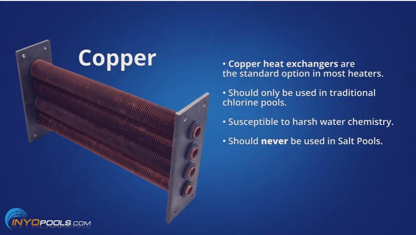 Amazing ... Inground Pool Heater Cupro Nickel Heat Exchanger