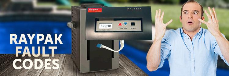 raypak error codes
