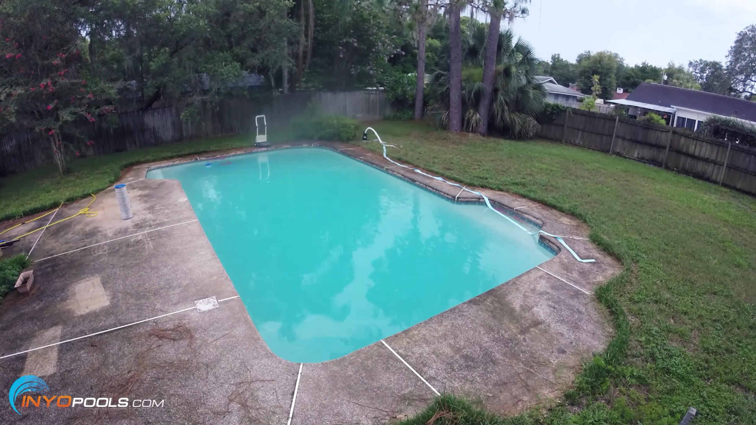 How to Clean a Green Pool? - INYOPools com