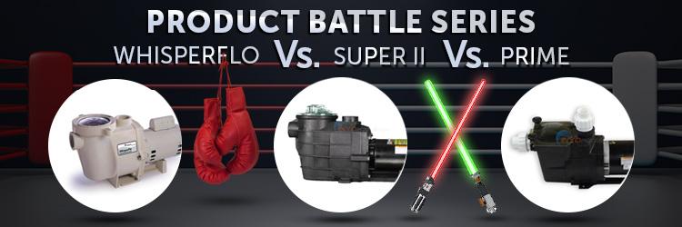 Product Battle Series Pentair Whisperflo Vs Hayward