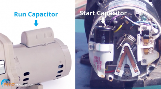 how to replace a pool pump motor capacitor