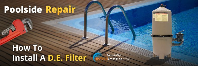 how to install a de pool filter