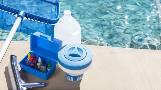 freshwater saltwater pool maintenance