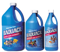 What are biguanides and is it a safe alternative to chlorine for Chemicals needed to close swimming pool