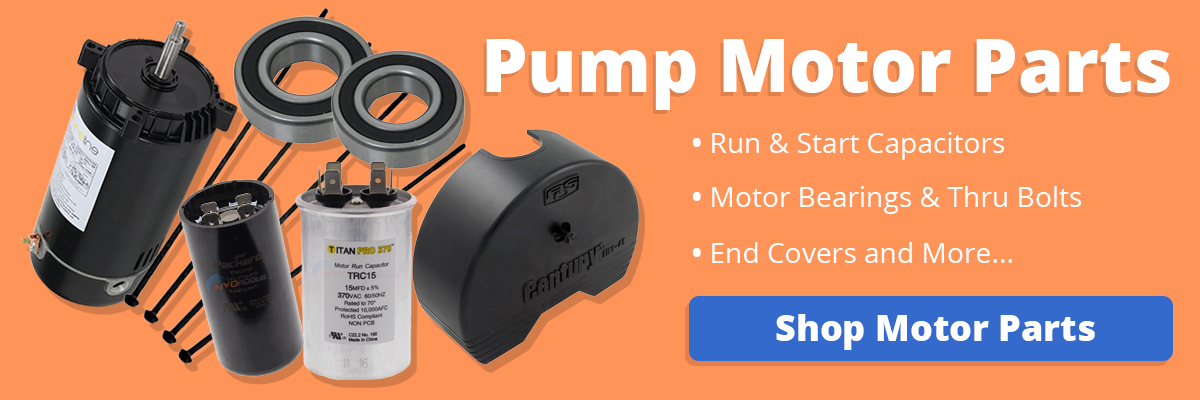 click here to find your Replacement Pool Pump Motor Parts