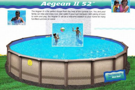 Seaspray Aegean II Above Ground Pool