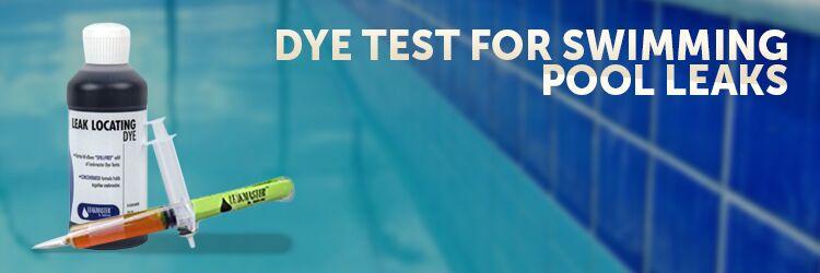 Dye Test For Swimming Pool Leaks Inyopools Com