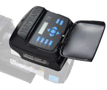 new hayward pool pump variable speed controller