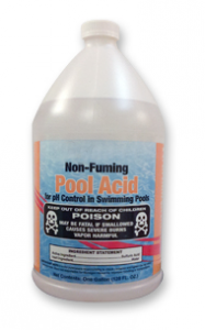 sulfuric acid, what types of pool acid may I use?