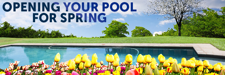 Opening your pool for the spring