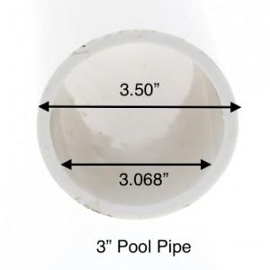 """3"""" PVC Pool Pipe"""