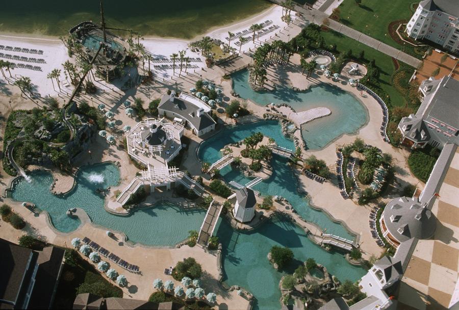 Disney Yacht Club Pool