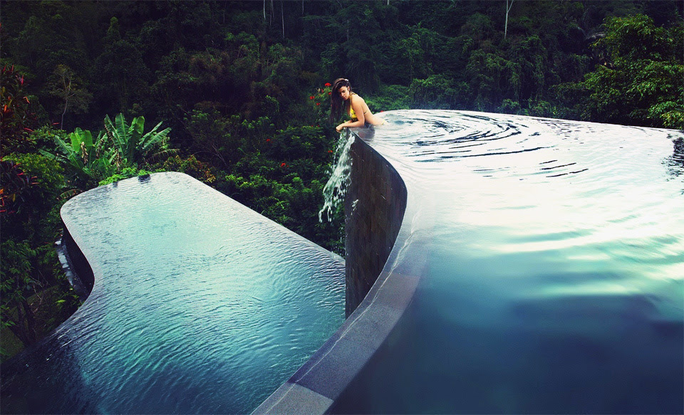 Hanging Gardens Pool Indonesia