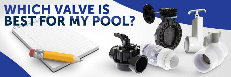 swimming pool plumbing vavle guide
