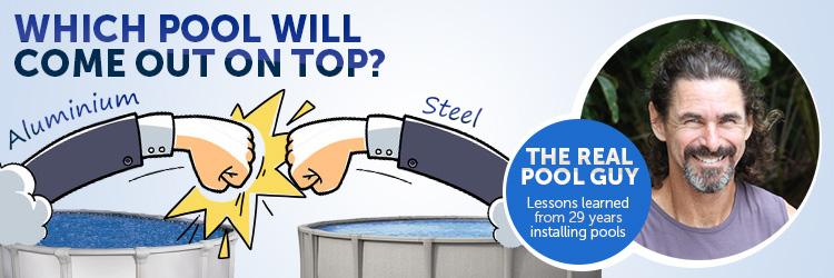 Aluminum vs Steel Above Ground Pools