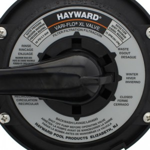 Hayward SP714T Top Mount Valve Label