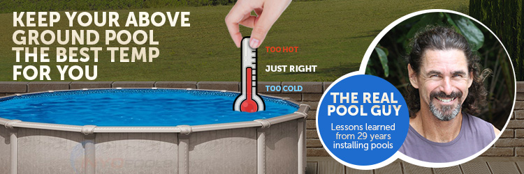 Water Temperature of Above Ground Pools