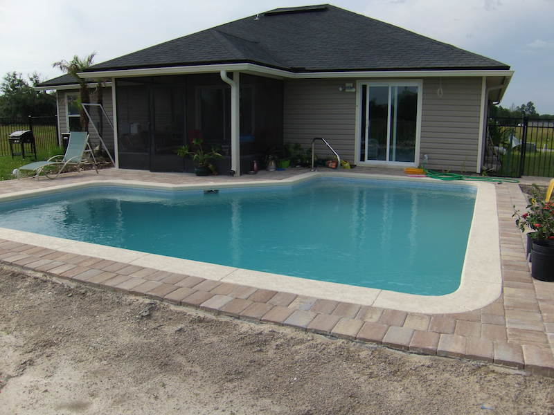 How much does a pool cost 93 real world examples Inground swimming pool prices