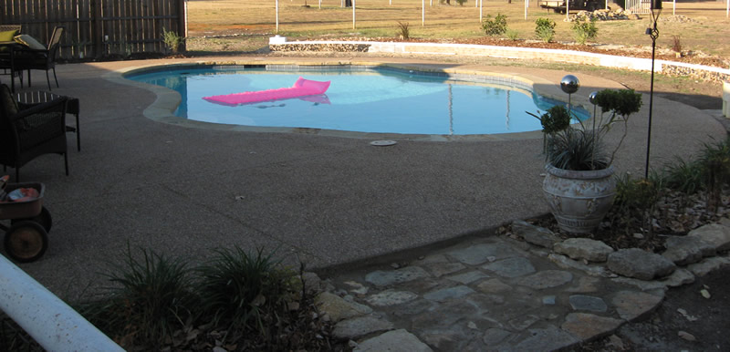 Willow Park Texas Swimming Pool