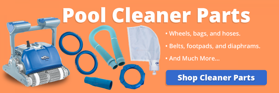 click here to view our pool cleaner parts section