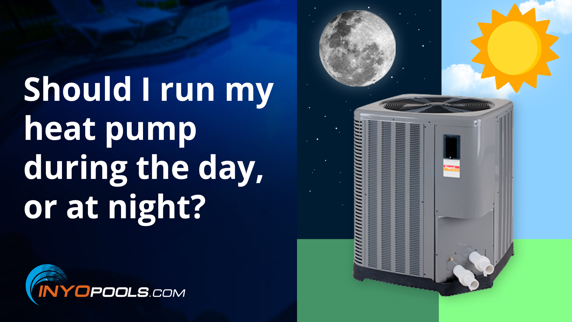 Should I run my heat pump during the day or at night?