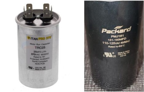 The Two Types of pool pump Capacitors