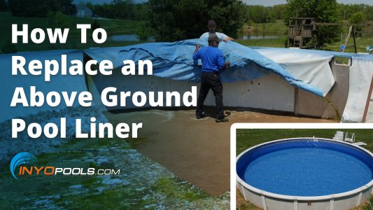 How to replace an above ground pool liner